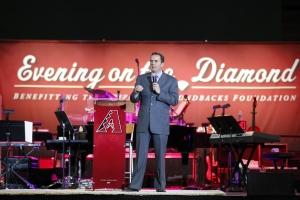 The Arizona Diamondbacks Evening on the Diamond Presented by University of Phoenix at Chase Field on March 30, 2012.  (Jordan Megenhardt/Arizona Diamondbacks)