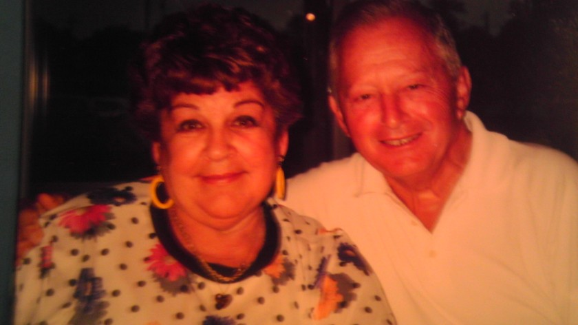 Grandma and Grandpa - while not watching golf.