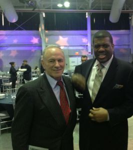 Peter Vecsey and former NBA scoring champ Bernard King