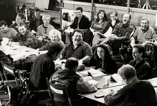 Seinfeld table read