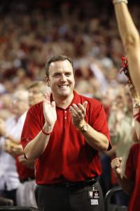 Derrick Hall, Arizona Diamondbacks president and CEO (Jon Wiley/Arizona Diamondbacks)